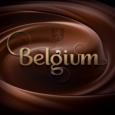 design logotype of belgium