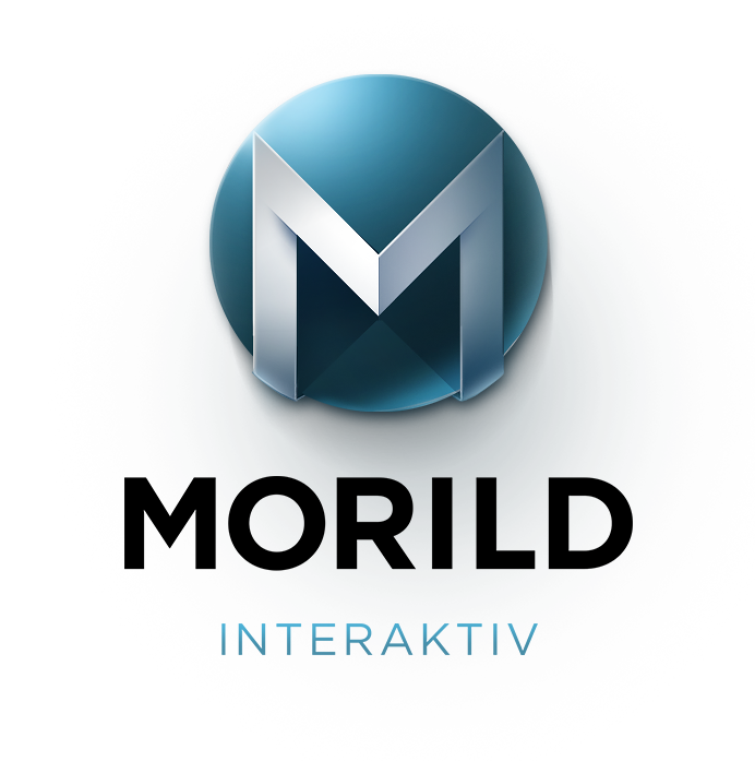 Morild Interactiv Logo Concept for Light BG